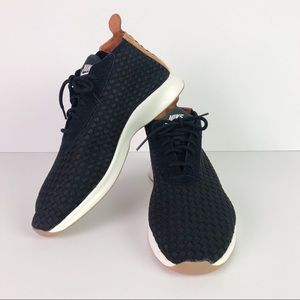 NEW NIKE AIR WOVEN BOOT SNEAKERS BLK/SNAKESKIN
